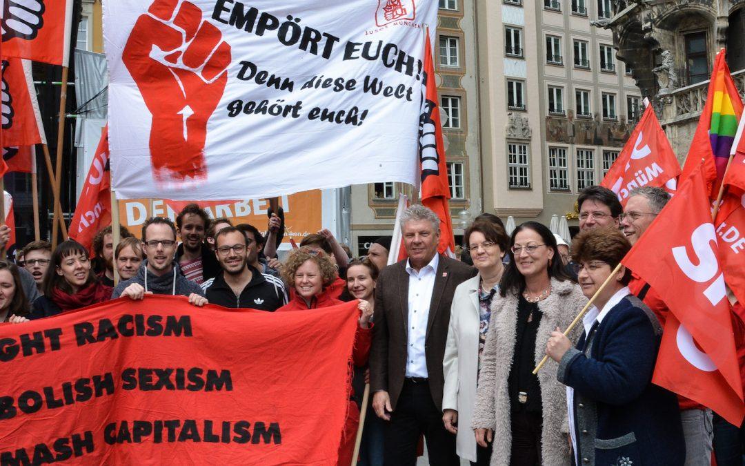 Am 1. Mai für Solidarität, Vielfalt & Gerechtigkeit
