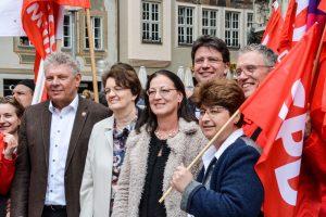 Erster Mai mit Micky, Dieter Reiter und Claudia Tausend