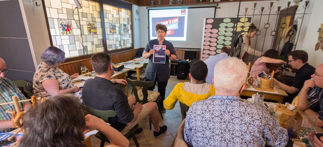 """Sonne & Ideen – Wahlkampf-Workshop """"Team Micky Wenngatz"""""""